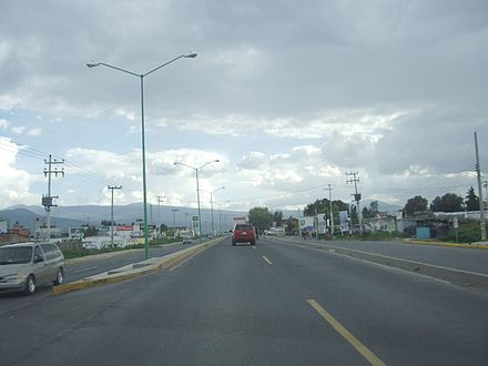 Carretera  Chalco  Tláhuac