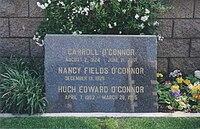 Carroll O'Connor headstone.jpg