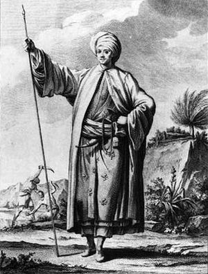 Danish Arabia expedition (1761–67) - Carsten Niebuhr in native clothing