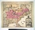 Carte de la Nouvelle France, - où se voit le cours des grandes rivieres de S. Laurens & de Mississipi, aujour d'hui S. Louïs, aux environs des-quelles se trouvent les etats, païs, nations, peuples etc NYPL1260171.tiff