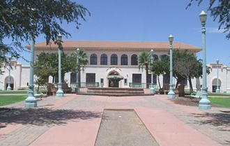 Casa Grande, Arizona - Historic Casa Grande Union High School which now serves as the Casa Grande City Hall.