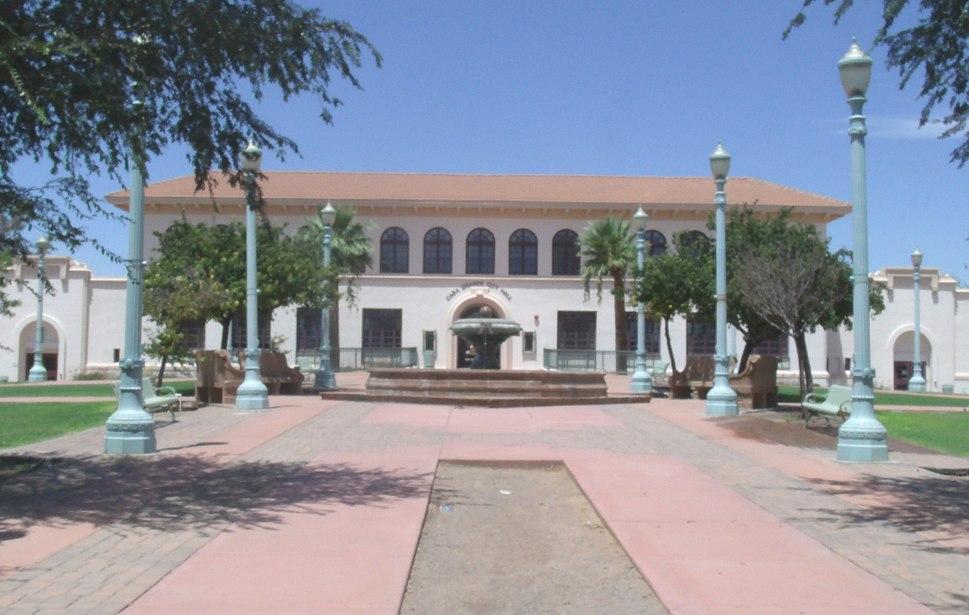 Historic Casa Grande Union High School which now serves as the Casa Grande City Hall.
