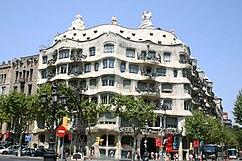 Casa Milà, Barcelona (1905–1907)