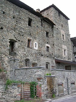 The Rhins fortified house (12th century).