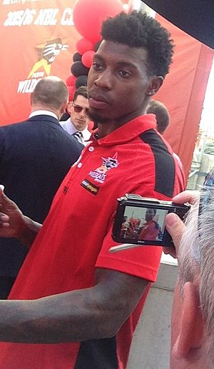 Casey Prather - Prather in March 2016, at the Wildcats' championship ceremony
