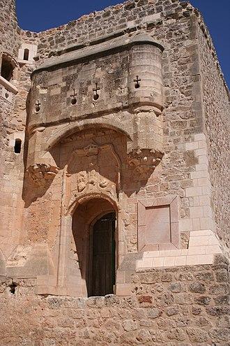 Castillo de Garcimuñoz - Doorway of the castle