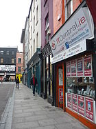 Castle Street in Cork City Centre