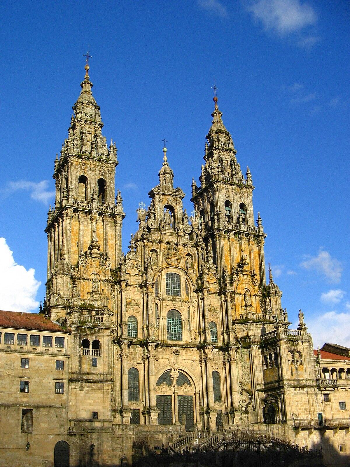 Cathedral of santiago de compostela wikidata - Office du tourisme saint jacques de compostelle ...