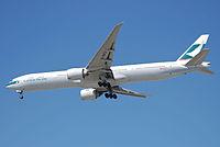 B-KPJ - B77W - Cathay Pacific