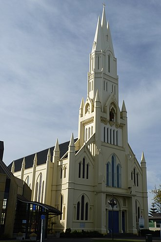 Cathedral of the Holy Spirit, Palmerston North - Image: Cathedral of the Holy Spirit, Palmerston North, New Zealand (33)