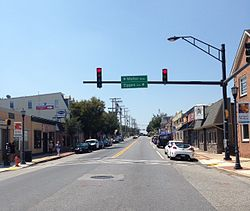 Frederick Road in Downtown Catonsville.