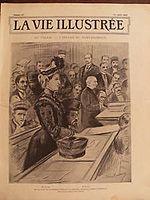 CdG LA VIE ILLUSTREE 1902 N 197 L'AFFAIRE Mme DUGAST- Me BARBOUX 25 July 1902.JPG