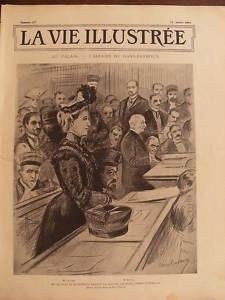 CdG LA VIE ILLUSTREE 1902 N 197 L'AFFAIRE Mme DUGAST- Me BARBOUX 25 July 1902