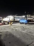 Cebgo ATR 72-600 Parked at NAIA Terminal 4 at night.jpg