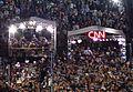 Celebration after Obama speech in Denver (press tents).JPEG