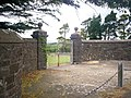 Cemetery Entrance, North Road, Whitland - geograph.org.uk - 1383950.jpg