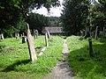 Cemetery at Gorrangorras - geograph.org.uk - 926750.jpg