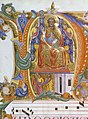 Cenni di Francesco di Ser Cenni - Initial N with Saint Peter Enthroned and the Liberation of Saint Peter - Walters W15335V - Reverse Detail.jpg