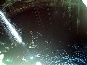 cenote dive site