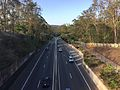 Centenary Motorway from Kenmore Road overpass northbound.JPG