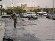 city centre of Adjabiya, Libya