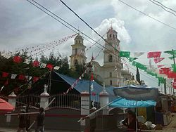 Church of San Mateo in Tepetitla, Tlaxcala