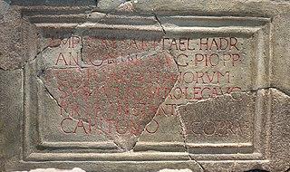 Navio Roman Fort Roman fort near Hope in Derbyshire, England
