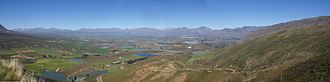 Ceres, Western Cape - Image: Ceres Valley Panorama View