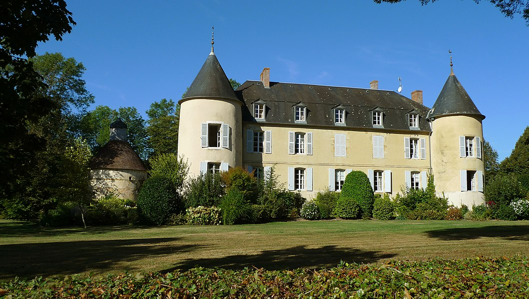 Château de Lichy, à Bona (Nièvre, France)