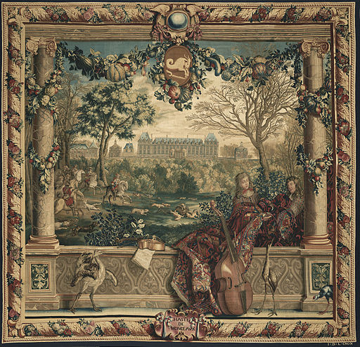 Château of Monceaux - Month of December (tapestry)-