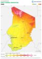 Chad DNI Solar-resource-map GlobalSolarAtlas World-Bank-Esmap-Solargis.png