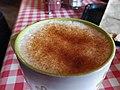 Chai latte at Gone Bakery (46117368322).jpg