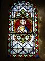 Champlin (Ardennes) église, vitrail Sacré Coeur.JPG