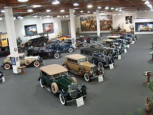 Chandler Vintage Museum of Transportation and Wildlife - Image: Chandler Museum
