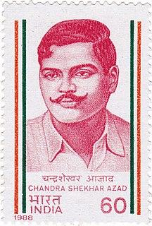 Chandra Shekhar Azad Indian activist and revolutionary freedom fighter