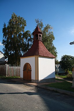 Chapel in Příštpo, Třebíč District.JPG