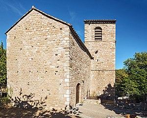 Carlencas-et-Levas - Image: Chapelle Saint Pierre de levas, Carlencas et Levas Hérault France