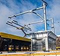 Charging AKSM-E321 electric bus in Minsk.jpg