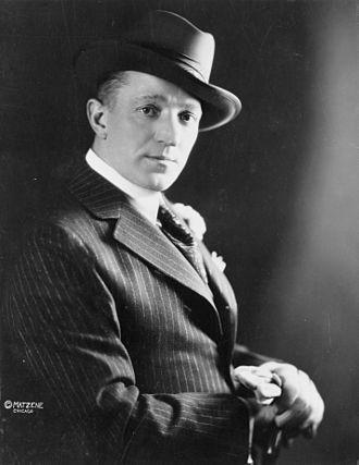 Charles Dalmorès - Charles Dalmorès in 1916