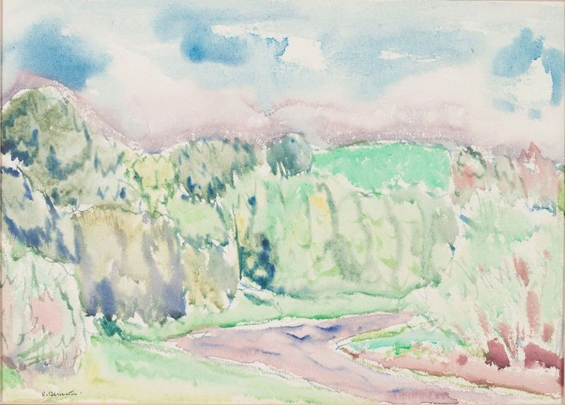 File:Charles Demuth, Landscape, watercolor, Demuth Museum Collection.jpg