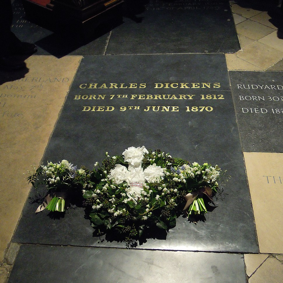Charles Dickens grave 2012
