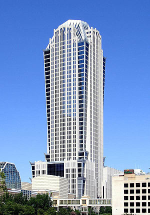 Hearst Tower (Charlotte) - The Hearst Tower is the third-tallest building in Charlotte and North Carolina.