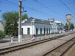 Chekhov railwey station