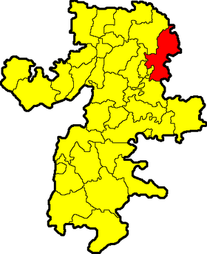 Krasnoarmeysky District, Chelyabinsk Oblast - Image: Chelyabinskaya oblast Krasnoarmeysky rayon