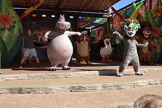 Madagascar (franchise) - Madagascar Live! Prepare to Party at Chessington World of Adventures Resort