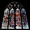 Chester Cathedral - interior, view of window with glass by Alan Younger.jpg