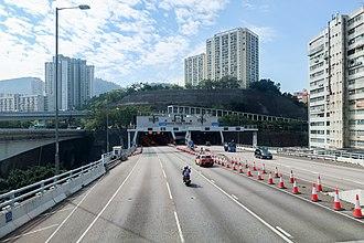 Cheung Tsing Tunnel - Image: Cheung Tsing Tunnel 201811
