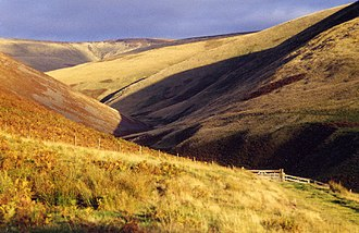Cheviot Hills - The Cheviot Burn