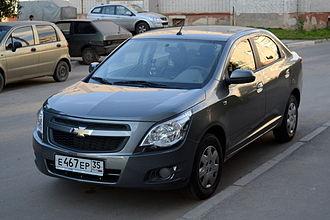 Automotive industry in Uzbekistan - Chevrolet Cobalt