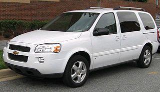 Chevrolet Uplander Motor vehicle